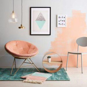 Mendekorasi Ruangan Dengan Warna Peach