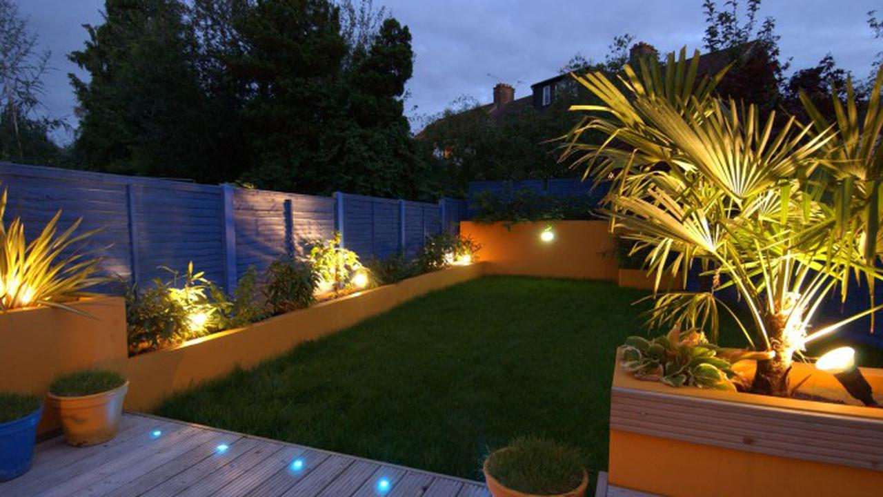 Tips Mengatur Tata Cahaya Taman