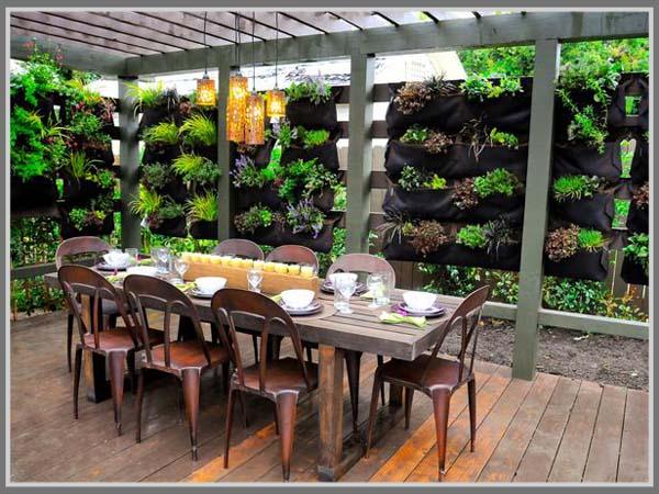 Tips Membuat Ruang Makan Outdoor Dengan Nuansa Alam