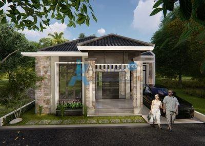 Hunian 1 Lantai – Ibu Intan – Yogyakarta