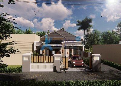 Hunian 1 Lantai – Bapak Bangkit – Yogyakarta