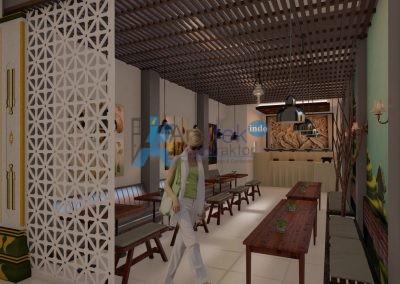 Interior – Hotel Satya Graha – Yogyakarta