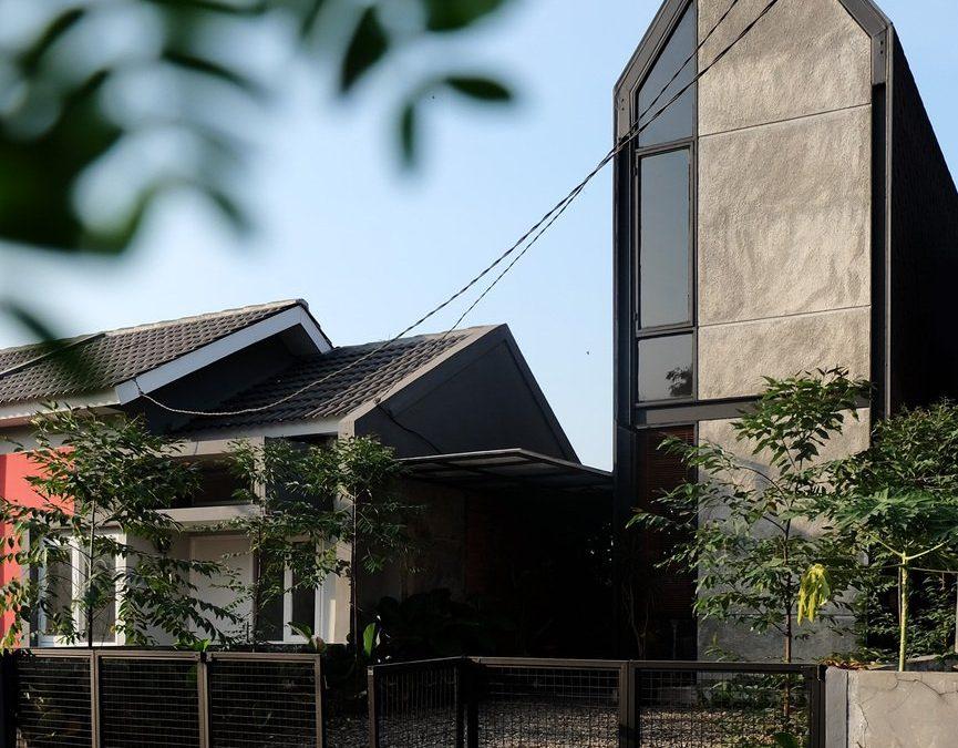 Compact House, Desain Rumah Modern Minimalis di Lahan Sempit